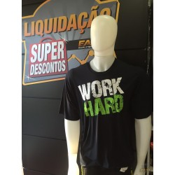 CAMISETA WORK HARD (PRETA) - EASY SPORTSWEAR