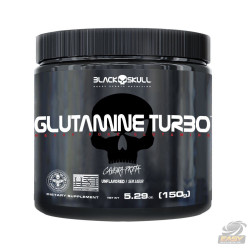 GLUTAMINE TURBO (150G) - BLACK SKULL