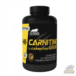 HI CARNITINE 1200MG (120 CAPS) - LEADER NUTRITION