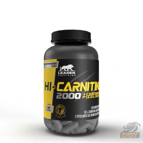 HI CARNITINE 1200MG (60 CAPS) - LEADER NUTRITION