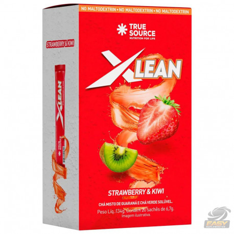 XLEAN ICED TEA (20 SACHÊS 7,3G) - TRUE SOURCE