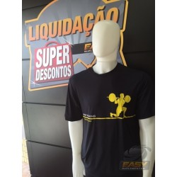 CAMISETA KEEP WALKING (PRETA) - EASY SPORTSWEAR