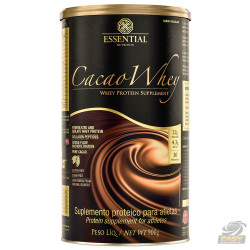 CACAU WHEY (900G) - ESSENTIAL NUTRITION