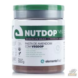 NUTDOP VEG PASTA DE AMENDOIM (500G) - ELEMENTO PURO