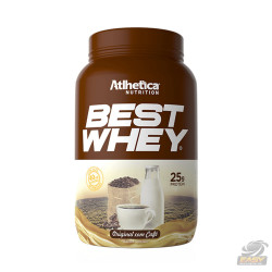 BEST WHEY (900G - ORIGINAL C/ CAFÉ) - ATLHETICA NUTRITION
