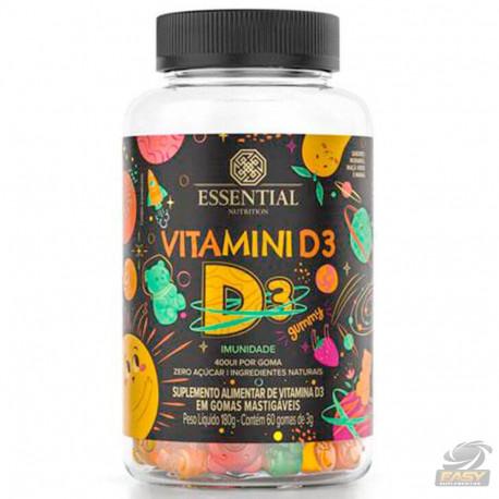 VITAMINI D (60 GOMAS) - ESSENTIAL NUTRITION