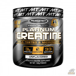 PLATINUM 100% CREATINE MICRONIZED (100G) - MUSCLETECH