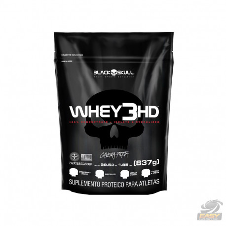 WHEY 3HD REFIL (837G) - BLACK SKULL