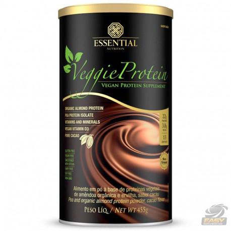 VEGGIE PROTEIN 100% VEGETAL CACAU (405G) - ESSENTIAL NUTRITION