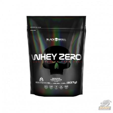WHEY ZERO REFIL (837G) - BLACK SKULL