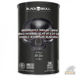 PACK T (30 PACKS) - BLACK SKULL