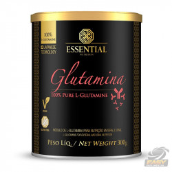 GLUTAMINA 100% PURE (300G) - ESSENTIAL NUTRITION