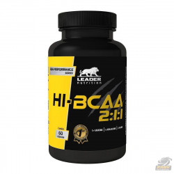 HI-BCAA 2:1:1 (60 CAPS) - LEADER NUTRITION