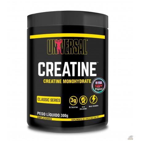 CREATINE UNIVERSAL (300G - ORIGINAL CR NUTRITION) - UNIVERSAL NUTRITION