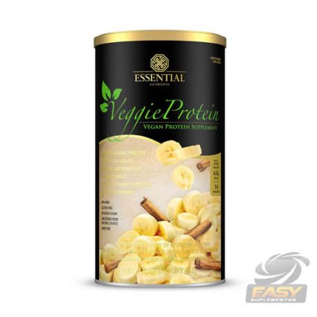 VEGGIE PROTEIN BANANA COM CANELA (462G - 14 DOSES) - ESSENTIAL NUTRITION