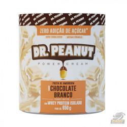 PASTA DE AMENDOIM (CHOCOLATE BRANCO COM WHEY - 650G) - DR PEANUT