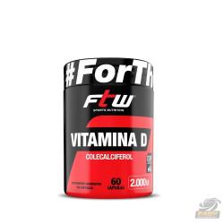 VITAMINA D 2.000UI (60 CAPS) - FTW