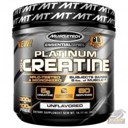 Platinum 100% Creatina (400gr) - MuscleTech