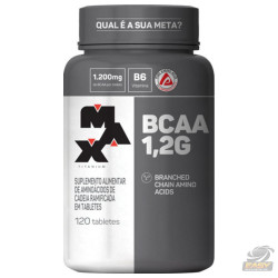 BCAA 1,2g (120 Tabletes) - Max Titanium