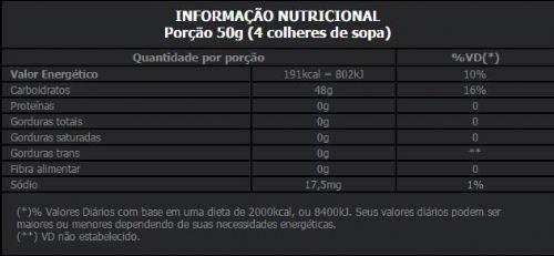 TABELA NUTRICIONAL MALTO BODY ACTION