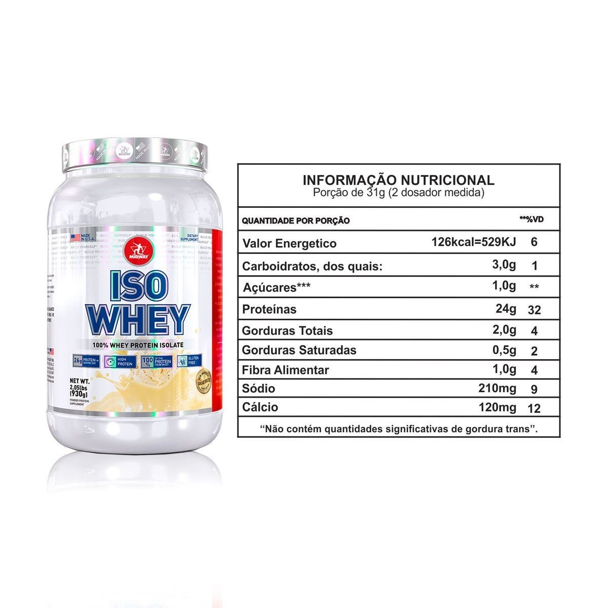 ISO WHEY (930G) - MIDWAY USA