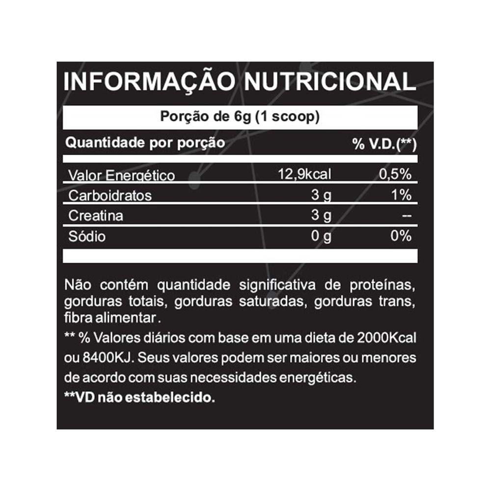 CREATINA KREAT MONOHIDRATADA (1KG) - XPRO NUTRITION