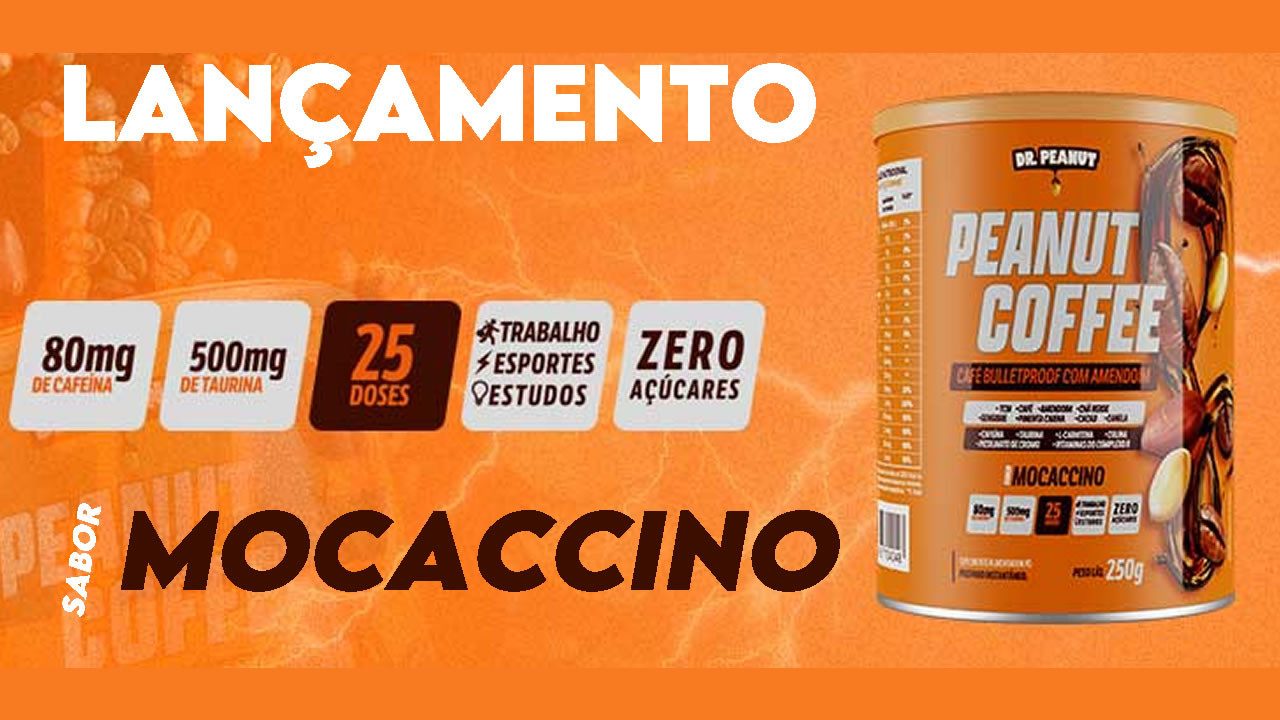 LANÇAMENTO - PEANUT COFFEE - DR PEANUT